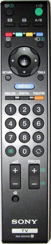 Пульт для Sony RM-ED009 (TV) (KDL-26P3000, KDL-26P300H, KDL-26P3020, KDL-26P302H, KDL-26P3030, KDL-26S2800, KDL-26S2810, KDL-26S2820, KDL-26S3000K, KDL-26S3010, KDL-26S3020, KDL-26S4000, KDL-26S4010, KDL-26T2600, KDL-26T260H, KDL-26T2800)
