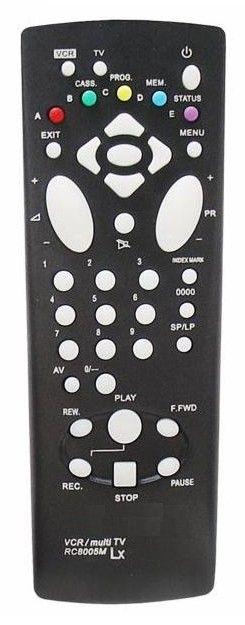Пульт для Thomson RC-8005M (VCR,TV c t/t) (VPH-6950C, VPH-6950L, VR-4920G, VR-4920G)