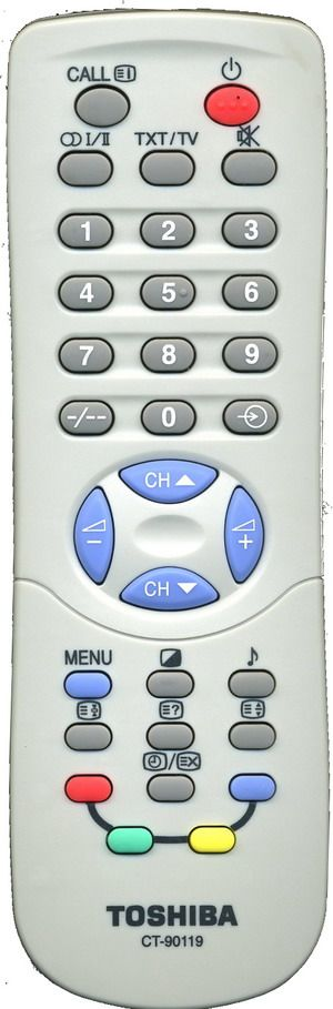 Пульт для Toshiba CT-90119 (TV