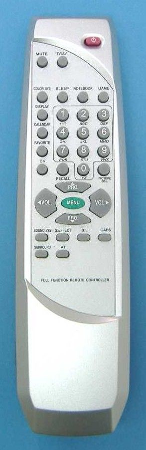 Пульт для AKAI/Trony/Hyundai/Sitronics/EVGO/TCL RC-W001(TV) (29GH2, H-TV2500PF, H-TV2501PF, H-TV2900PF, H-TV2901PF, SF-2512, ET-2985A, DT-25286 AS)