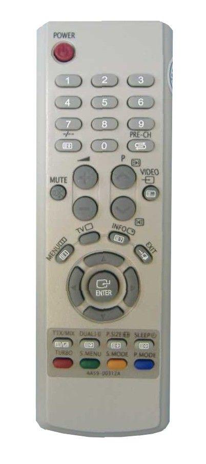 Пульт для SAMSUNG AA59-00312A (CS-15N11, CS-17A11MJQQ, CS-17N11, CS-21K30MJQ, CS-21N11F1Q, CS-21N11MJQ)