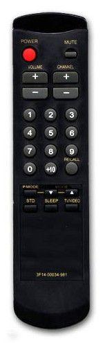 Пульт для SAMSUNG 3F14-00034-980, 3F14-00034-981, 3F14-00034-982 (TV) (CK-3362A,M, CK-5052M, CK-5062A, CK-5161M, CK-5314AT, CK-5361AT, CW-3351S, CW-3357, CW-3857, CW-5029, CW-5057, CW-5287, SK-3552A)