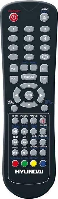 Пульт для Hyundai/AKAI/SUPRA H-LCDVD2200/H-LCD1509 (LTC-15S04M, LTC-16R5X2M, LTC-16R5X3M, H-LCD2209, H-LCD3202, H-LCS3202, STV-LC1545)