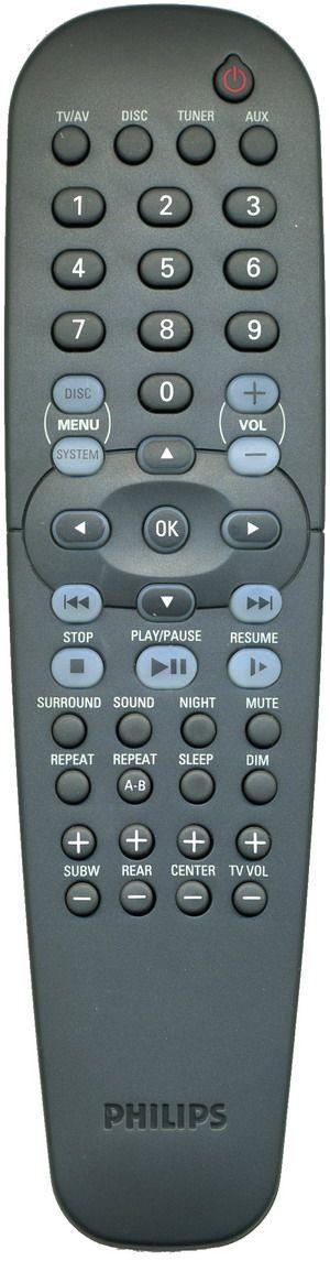 для Philips RC19245007/01 (home theater) (LX3000D/22S, LX3700D, LX7000SA, LX8000SA/21R, LX8200SA)