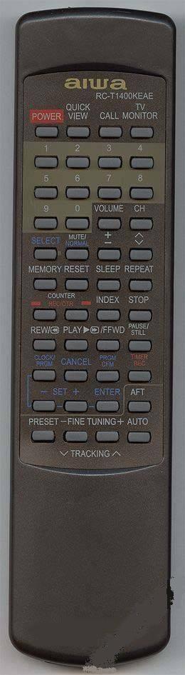 Пульт для Aiwa RC-T1400KE (TV/VCR)