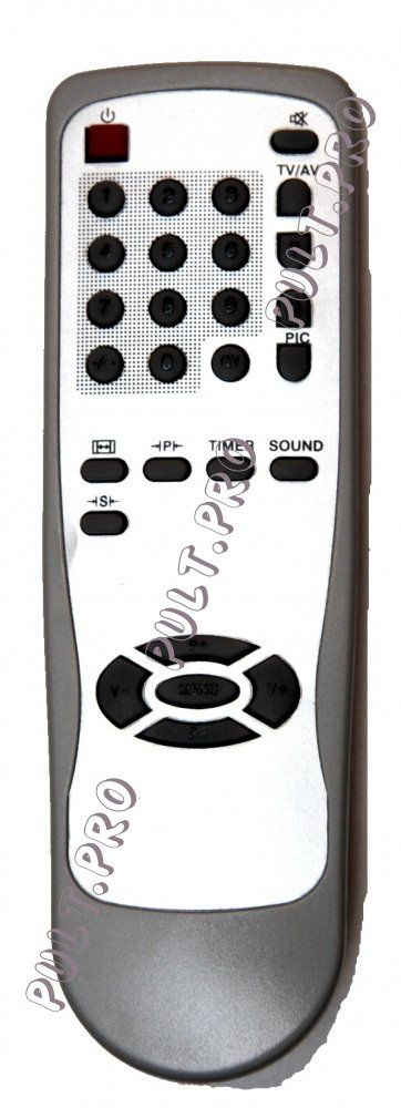 Пульт для Akai RC-M105 (TV)
