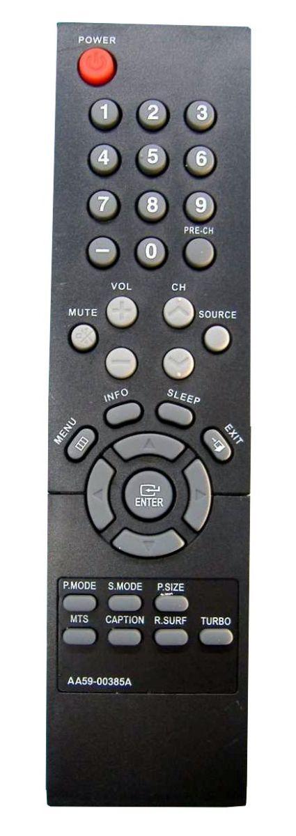 Пульт для Samsung AA59-00385A (TV) (CL-21K40MQ CL21K40MQGTXAP CL21K40MQGXGSU CL21K40MQGXRCL CL21K40MQGXSTR CL21K40MQGXUGU CL21K40MQGXXAO CL21K40MQGXXAP CL21K40MQGXXAX CL21K40MQGXXBG CL-21M40MQ CL21M40MQGNXAP CL21M40MQGTXAP CL21M40MQGXGSU)