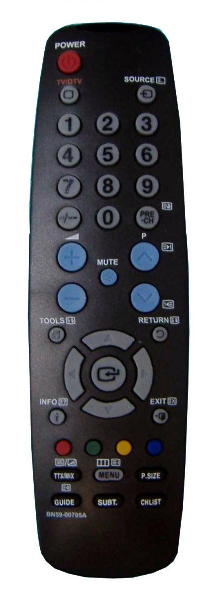 Пульт для Samsung BN59-00705A, BN59-00705B (TV) (LE-19A656A1D, LE-22A457C1D, LE-22A656A1D, LE-26A336J1D, LE-32A336J1D, LE-37A336J1D, LE-40A336)