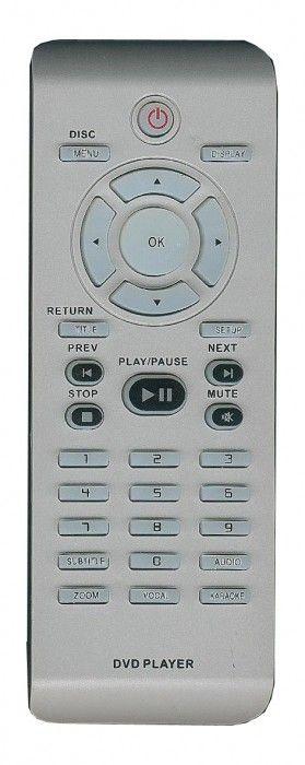 Philips RC2011 (DVD) 2422 549 00947 (DVP3126KX, DVP3146KX, DVP3148K, DVP5140K, DVP5166KX, DVP5168K, DVP5986KX)