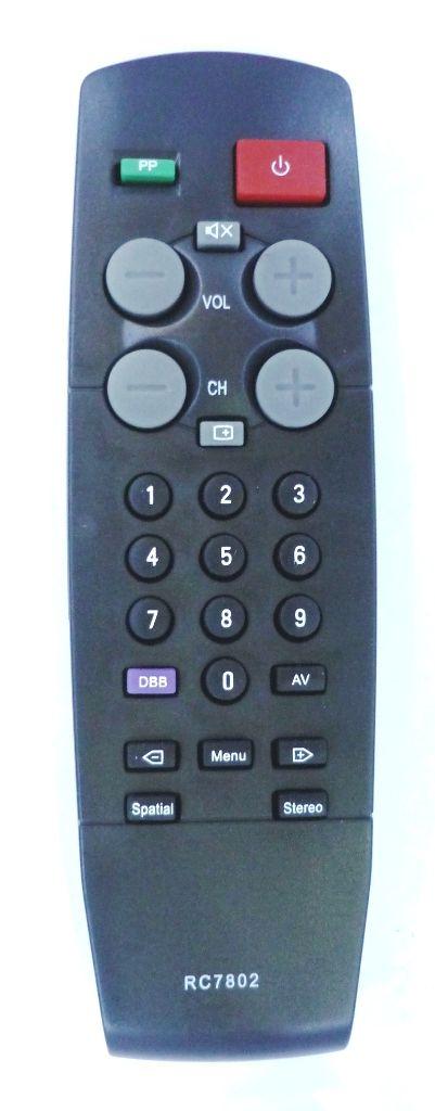Philips RC7802 (TV) (21GX1870, 21GX1871, 25GX1880, 25GX1881, 25GX1886, 25P500, 29AS11, 29GX1893, 29P900S, P21STE, PV21PB, SP21, SP25, SP25PB, ST29)