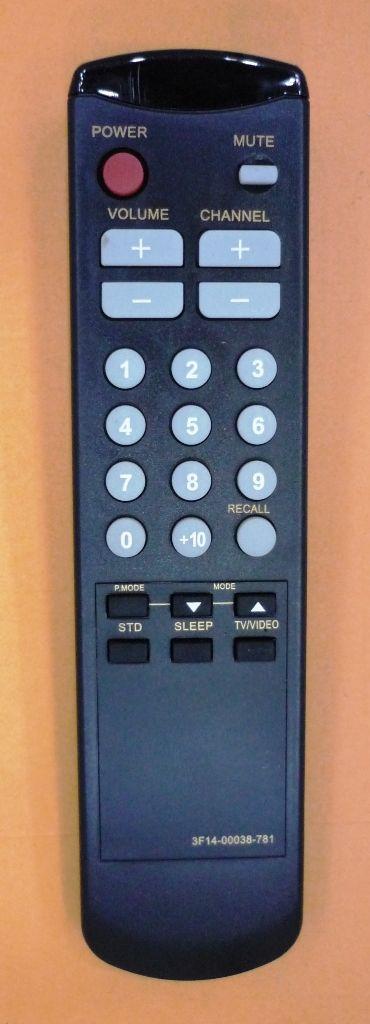 Samsung 3F14-00034-780, 3F14-00034-781 (TV) (CK-3362A, CK-3362M, CK-5052M, CK-5062A, CK-5161M, CK-5314AT, CK-5361AT, CW-3351S, CW-3357, CW-3857, CW-5029, CW-5057, CW-528Z, CW-5314X)