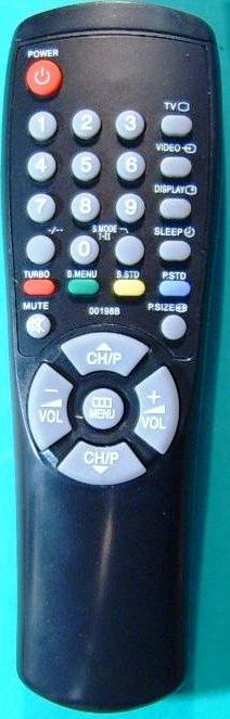 Samsung AA59-00104B (=00198B,H) (TV) (CS-1085TR, CS-1439R, CS-1445, CS-1448, CS-14С8, CS-14E3, CS-14F1, CS-14F2, CS-14F2Q, CS-14H1, CS-14H3, CS-14R1, CS-14S1, CS-15K2, CS-15K8, CS-15K8WQ, CS-2038, CS-2039, CS-2085R, CS-2085TR, CS-20E3WR)