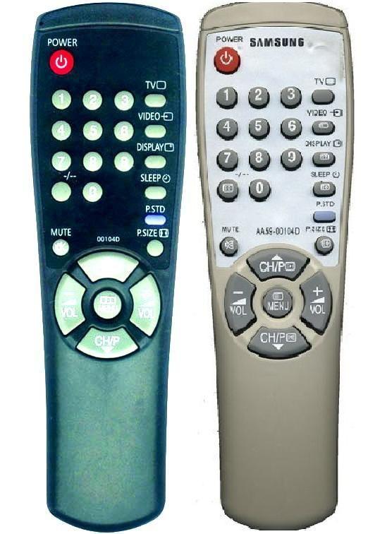 Samsung AA59-00104D (TV) (CK-6202SXR, CS-14C8R, CS-14F1R, CS-14F2R, CS-14F8R, CS-14H1R, CS-20H1, CS-20H3, CS-2173R, CS-21A8Q, CS-21D8R, CS-29A6WT, CS-29K3WT, CS-29K5WT, CS-29Z6HP)