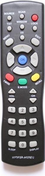 Пульт для Sitronics/ONIKS HYDFSR-A025EU (TV) (LCD-2003EU, LCD-2031)