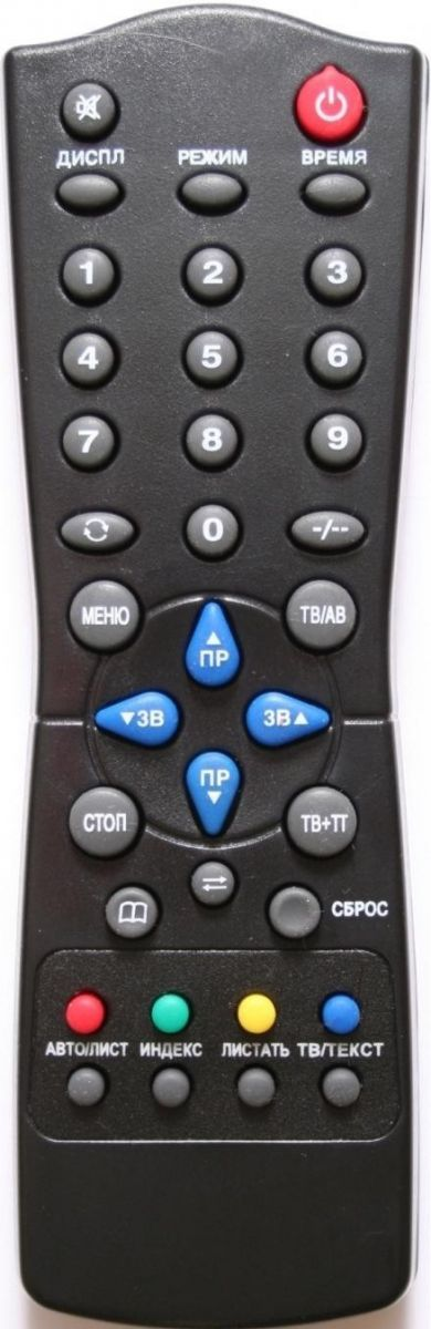Пульт для Sokol RC-FX36A (TV с t/t) (37ТЦ6152, 37ТЦ6153, 51ТЦ6152, 51ТЦ6153, 54ТЦ6152, 54ТЦ6153)