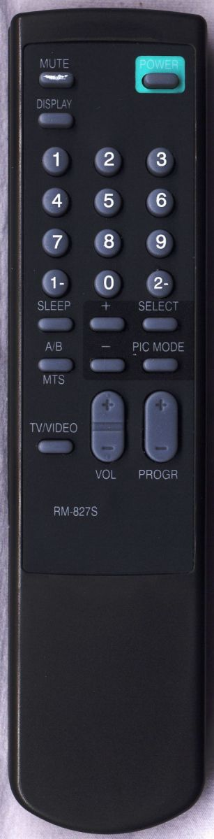 Пульт для Sony RM-849S (TV) (KV-1485, KV-1487MT, KV-14DK2, KV-14MD1, KV-1685, KV-1985, KV-2167MT, KV-2185, KV-2185MK, KV-21DK2, KV-21MF1, KV-B14M1, KV-G14M1, KV-G21D1, KV-G21M1, KV-G21S1, KV-G21S11, KV-G25M1, KV-MN1, KV-MN11, KV-T21MF1)