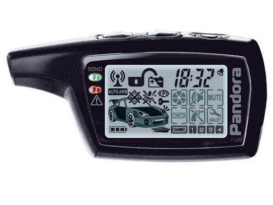 Брелок для автосигнализации PANDORA DXL 3000/3100/3170/3300