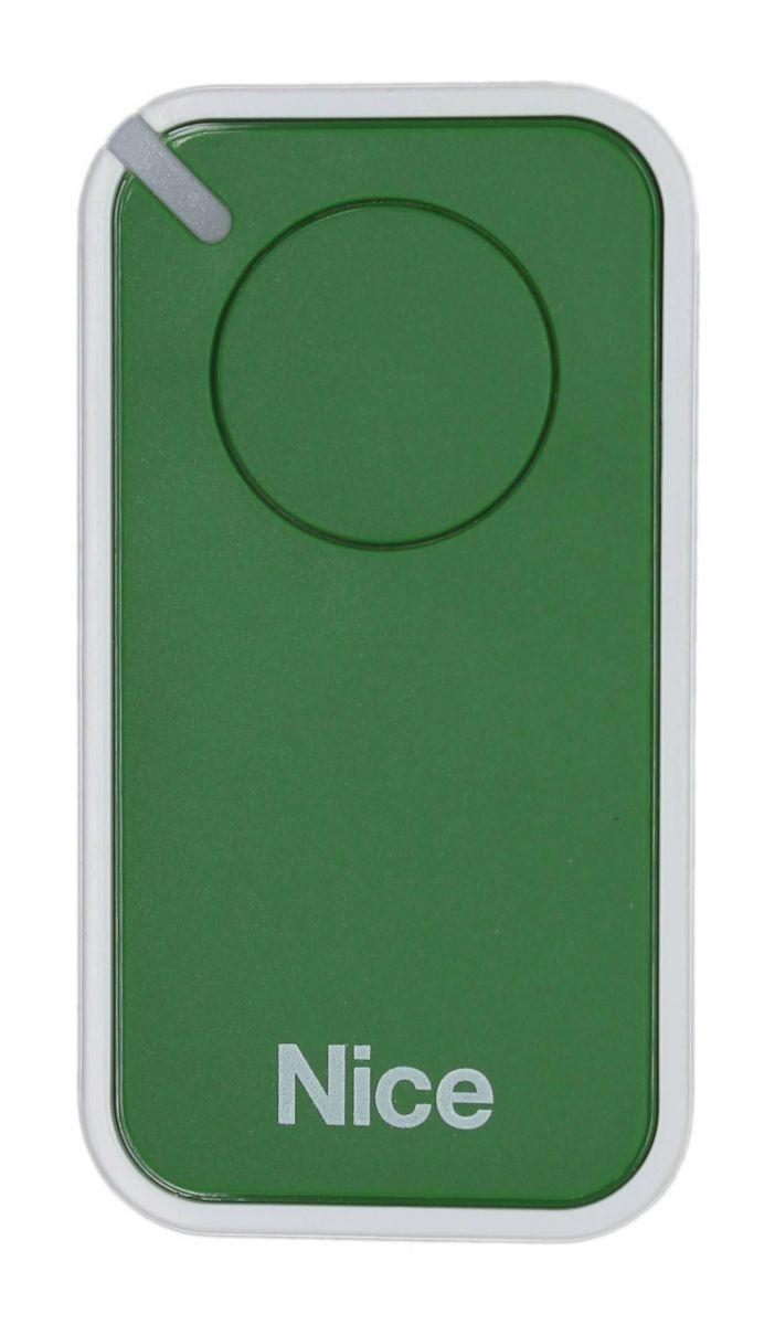 Пульт Nice INTI1G, динамический код, зеленого цвета.