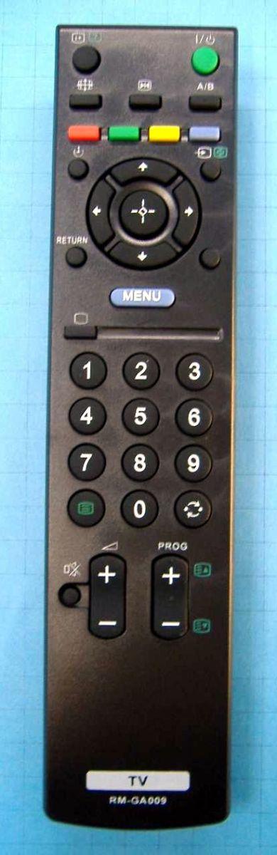 Пульт для Sony RM-GA009 (TV) (KLV-37U300A, KLV-40V300A, KLV-32U300A, KLV-26U300A)
