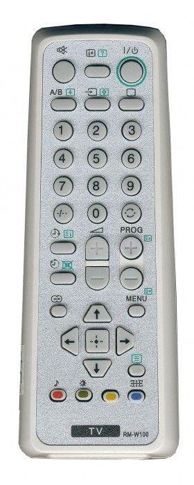Пульт для Sony RM-W100 (TV) (KV-14CT1K, KV-21CL1K, KV-21CL5K, KV-21CT1K, KV-21FQ10K, KV-AR21M81, KV-BT212M81, KV-HW212M91, KV-HW212M95, KV-HW21M81)