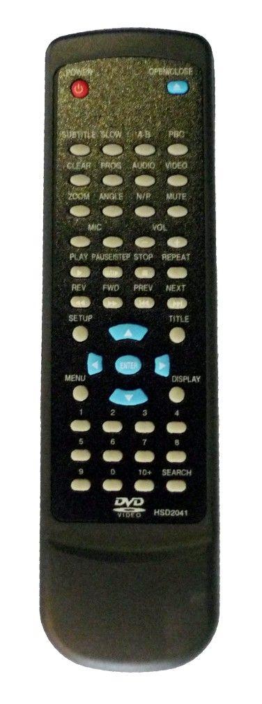 Пульт для Xoro RC-2041 (DVD)