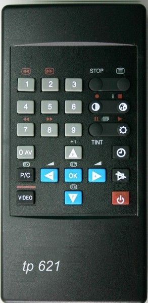 Пульт для GRUNDIG TelePilot 621 (TP-621) (P37-449, P40-440, P45-440, T51-440, T55-440, T55-449, T63-430, T63-446, T70-440)