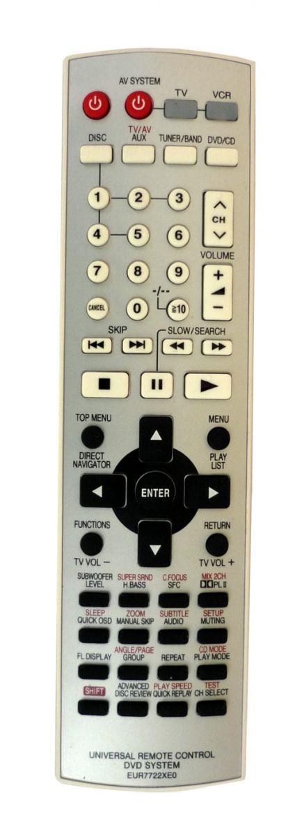 Пульт для Panasonic EUR7722XEO (DVD system) (SA-HT845EE-S, SA-HT895EE, SA-HT930EE-S, SA-HT935EE, SC-HT885EE-S, SC-HT930EE, SC-HT935EE)