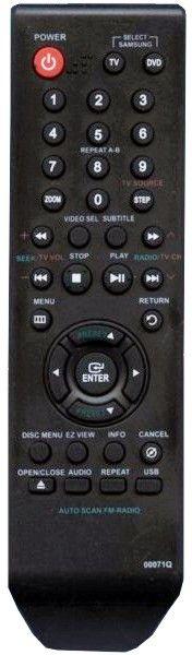 Пульт для Samsung 00071Q (DVD)