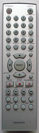 BBK RC019-01R (DVD player) (BBK-911S, BBK-918S, BBK-920, DV112S, DV113S, DV311S, DV313S, DV911SM, DV912S, DV913S)