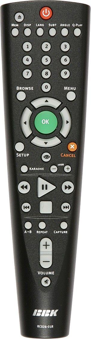 BBK RC026-01R (DVD player)