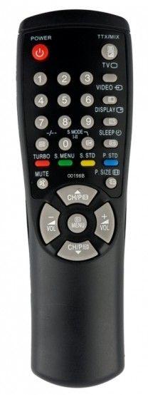 Пульт для телевизора Samsung AA59-00198B (CS-1085TR, CS-1439R, CS-1445, CS-1448, CS-14С8, CS-14E3, CS-14F1, CS-14F2, CS-14F2Q, CS-14H1, CS-14H3, CS-14R1, CS-14S1, CS-15K2, CS-15K8, CS-15K8WQ, CS-2038, CS-2039, CS-2085R, CS-2085TR, CS-20E3WR)