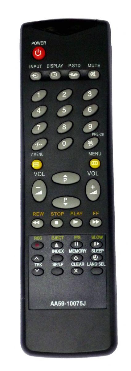 Пульт для Samsung AA59-10075F, AA59-10075J, 00006C  (TV) (TVP-3350WR, TVP-3360WA, TVP-3360WR, TVP-5050WR, TVP-5350WR, TW-14B5VR, TW-14C16R, TW-14C3DR, TW-14C3R, TW-14C5, TW-14C54, TW-14C6DR, TW-14C9DR, TW-20C5DR, TW-2185DR, TW-21B3NR, TW-21B3R, TW-21B5DR)