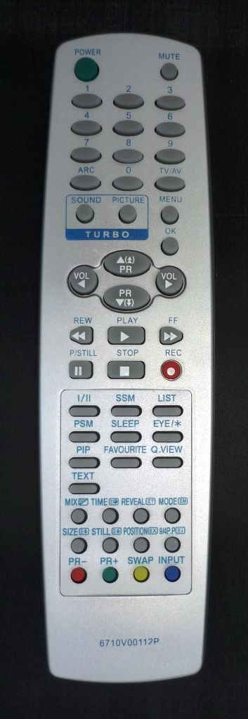 LG 6710V00112P (TV) (RT-29FB55RQ)