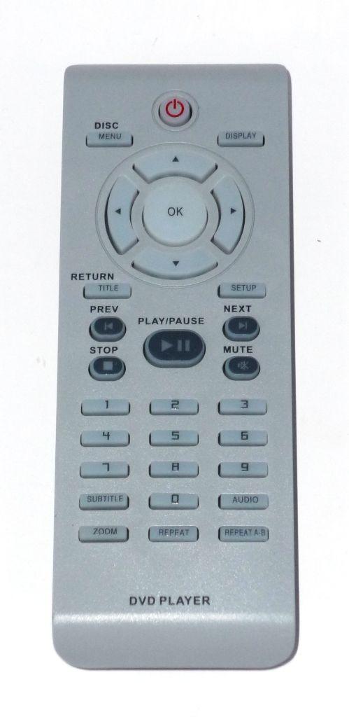 Philips RC2010 (DVD) (DVP3040K, DVP3120, DVP3126X, DVP3144, DVP5960)