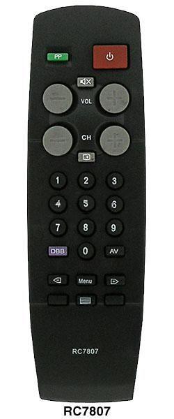 Philips RC7807 (TV) (20GX1750/58R, 21GX1560, 21GX1562, 21GX1563, 21GX1760/50B)