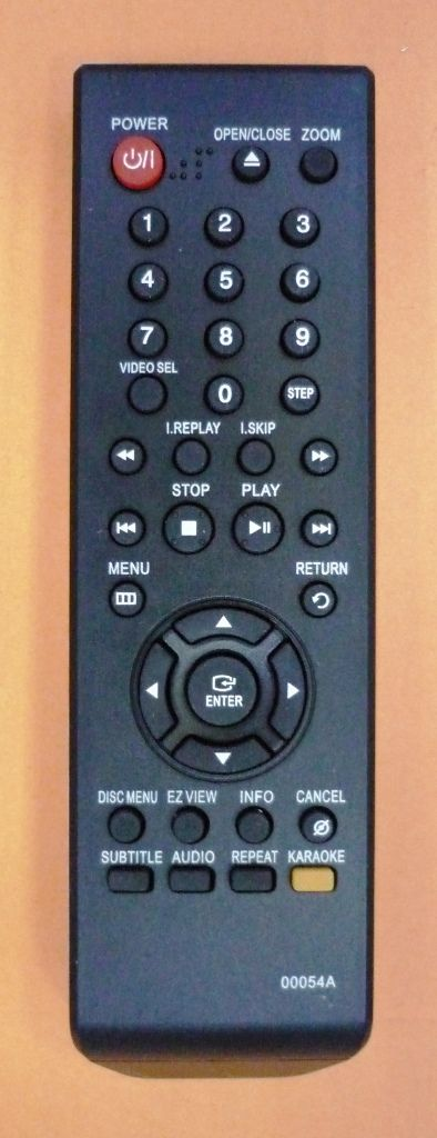 Samsung 00054A (DVDkaraoke) (DVD-P360K, DVD-P361K, DVD-P365KD, DVD-P366KD, DVD-P370K, DVD-P375KD, DVD-P376KD, DVD-P465KD)