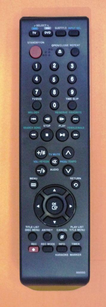 Samsung 00055G (DVD) (DVD-R128, DVD-R129, DVD-R130, DVD-R131)